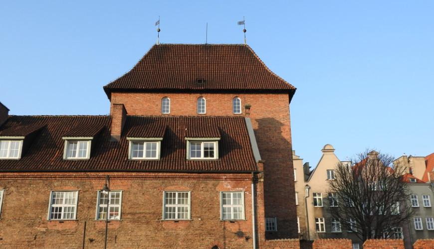 Baszta Browarna wchodzi w skład Dworu Miejskiego