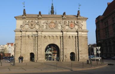 Brama Wyżynna - najważniejszy wjazd do dawnego Gdańska