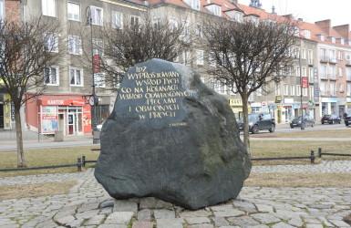 Pomnik Dariusza Kobzdeja