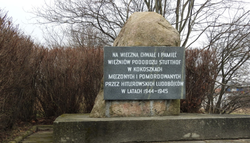 Pomnik Więźniów Podobozu Stutthof w Kokoszkach