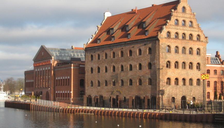 Spichlerz Królewski - obecnie trzygwiazdkowy hotel