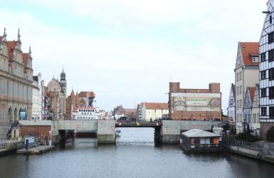 Most Zielony - najważniejszy w dawnym Gdańsku