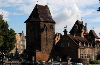 Baszta Narożna - najstarsza w Gdańsku