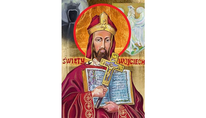 Święty Wojciech - dał początek pisanej historii Gdańska