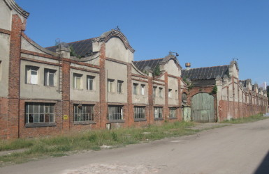 Zabytkowe zakłady kolejowe