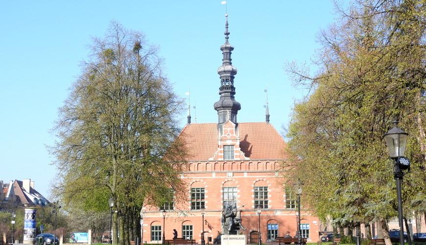 Ratusz Staromiejski powstał pod koniec XVI wieku