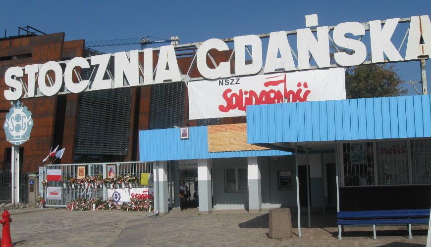 Historyczna Brama nr 2 Stoczni Gdańskiej