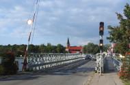Most pontonowy w Sobieszewie już niedługo przejdzie do historii