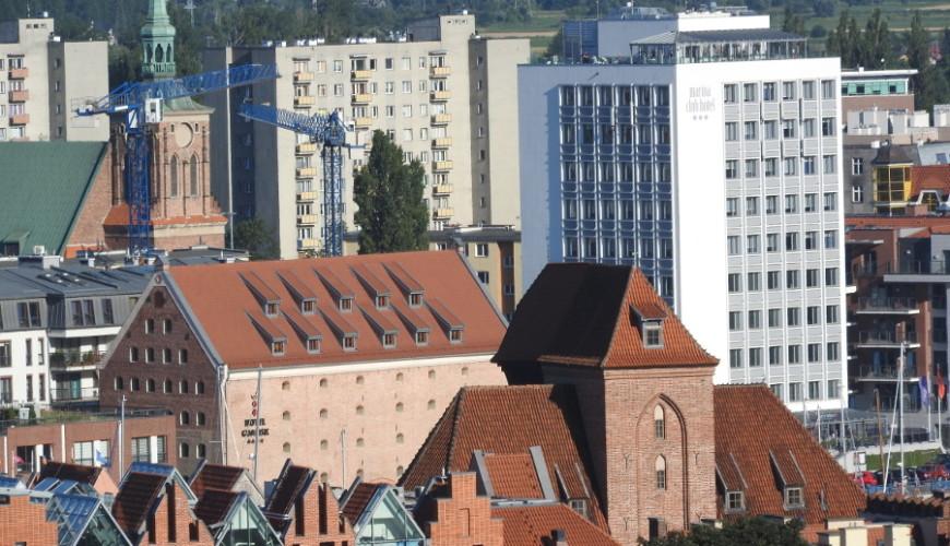 Gdańskie zabytki i wieżowce