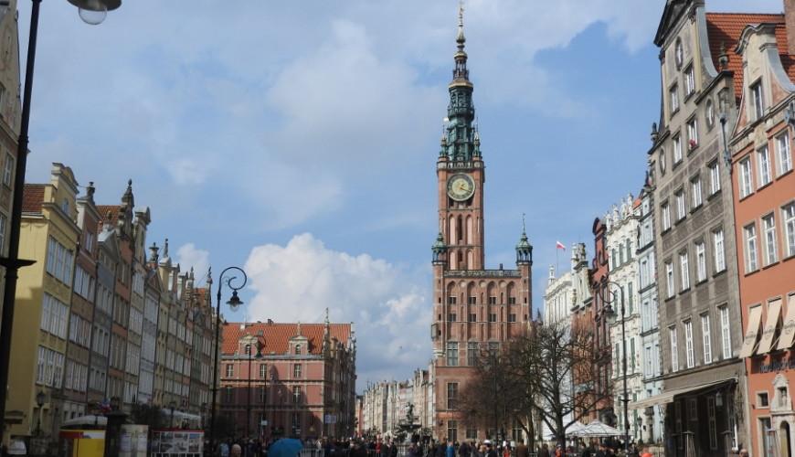 Długi Targ i Ratusz Głównego Miasta