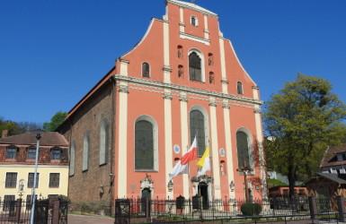 Kościół św. Ignacego - jedna z dwóch barokowych świątyń w Gdańsku