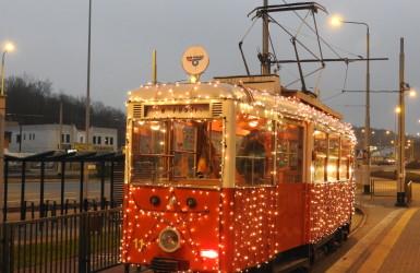 Zabytkowy wagon tramwajowy Konstal N