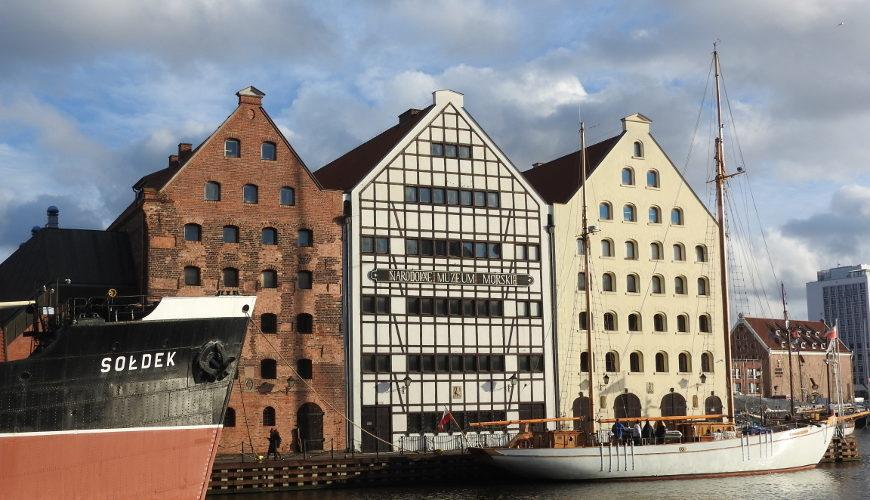Trzy muzealne i zabytkowe spichlerze