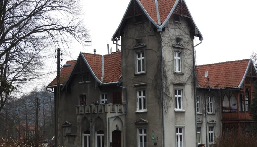 Zameczek Mormonów przy ul. Kwietnej 23 w Gdańsku-Oliwie