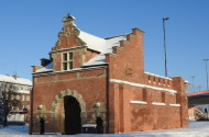 Brama Żuławska powstała we wschodnim ciągu gdańskich fortyfikacji