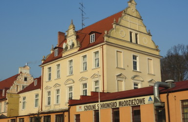 Zabytkowy Dwór Brandesów przy ul. Kartuskiej 245.
