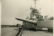 Schleswig-Holstein w gdańskim porcie, ostatnie chwile pokoju...  Źródło: zbiory Muzeum II Wojny Światowej
