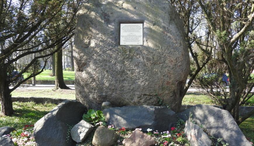 Pomnik burmistrza Daniela Gralatha