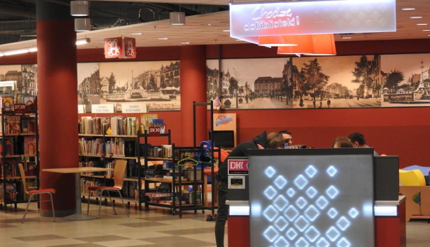 Biblioteka Manhattan - najnowocześniejsza placówka biblioteczna w Gdańsku