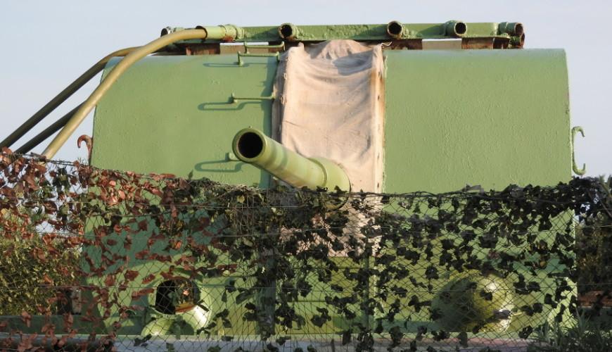 Jedyne w pełni zachowane stanowisko helskiej 27 Baterii Artylerii Stałej