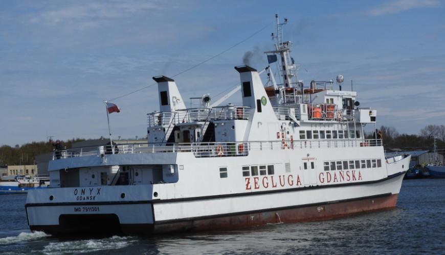 Trasę obsługują statki Żeglugi Gdańskiej