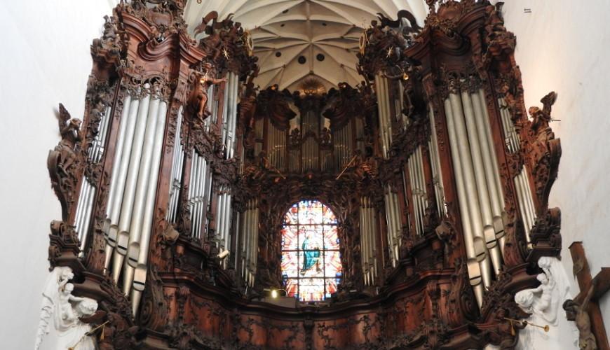 Brat Michał Wulff budowie organów poświęcił 25 lat...