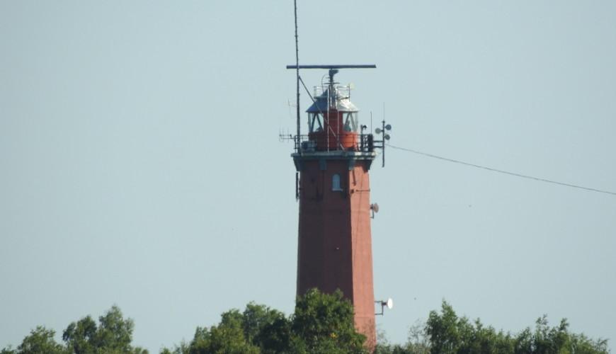 Obecna latarnia powstała w 1942 roku