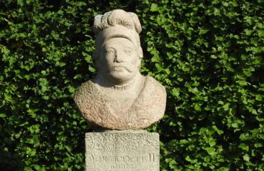 Popiersie Świętopełka w Parku Oliwskim