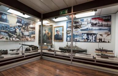 Wystawa poświęcona obronie polskiego wybrzeża. Źródło: Muzeum Marynarki Wojennej