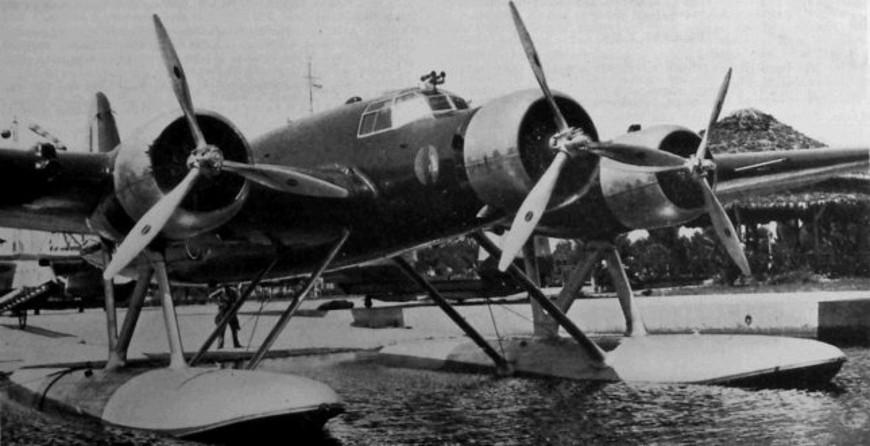 """CANT Z-506B """"Airone"""" - niespełniony sen puckich lotników. Źródło: samolotypolskie.pl"""