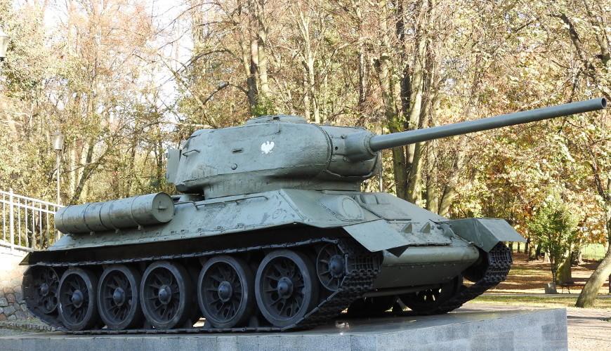 Wejherowski T-34/85 - upamiętnienie żołnierzy I Brygady Pancernej im. Bohaterów Westerplatte