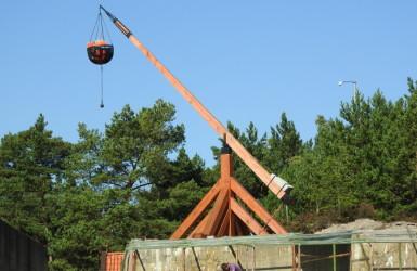 Rekonstrukcja helskiej blizy - dawnej latarni morskiej