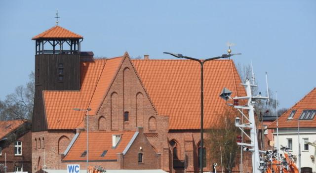Muzeum działa w dawnym gotyckim kościele św. Piotra i Pawła