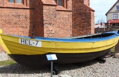 Dawna łódź rybacka