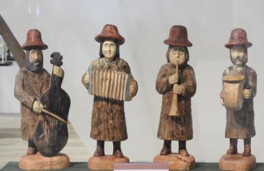Wystawa Muzykanci Świata w helskim Muzeum Rybołówstwa