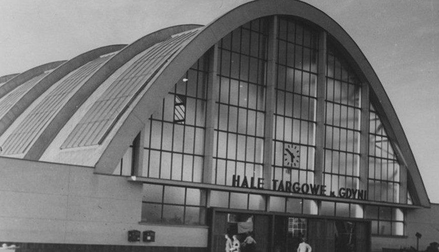Hale Targowe w Gdyni - jeden z niewielu przykładów konstruktywizmu w polskiej architekturze.