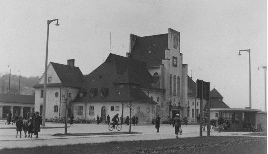 Gdyński dworzec kolejowy.