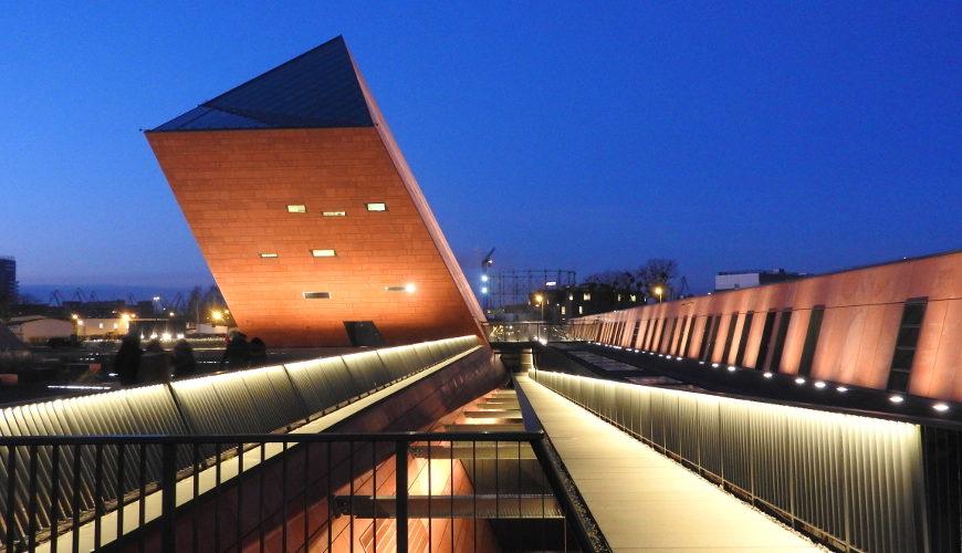 Ikoniczna architektura Muzeum II Wojny Światowej