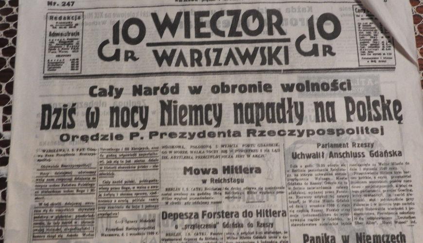 Cały Naród w obronie wolności. Dziś w nocy Niemcy napadły na Polskę