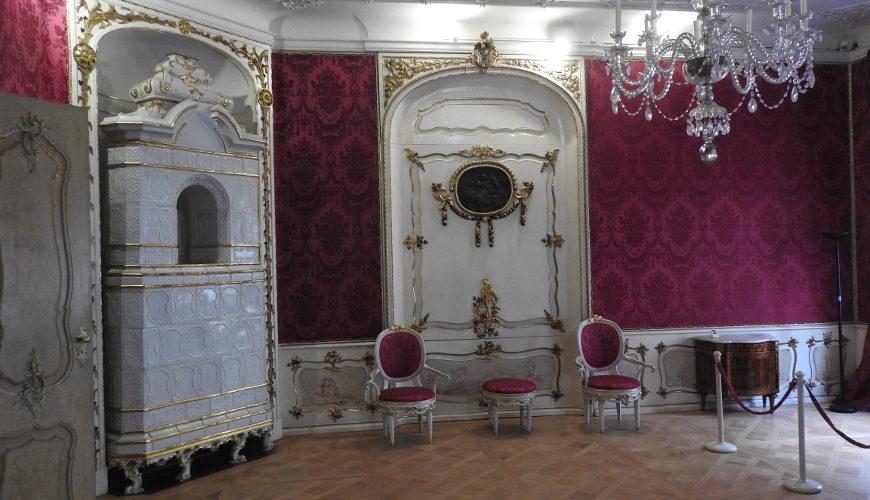 Salon w Domu Uphagena