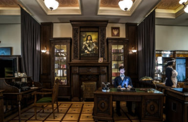 Gabinet burmistrza. Źródło: www.wejherowo.pl