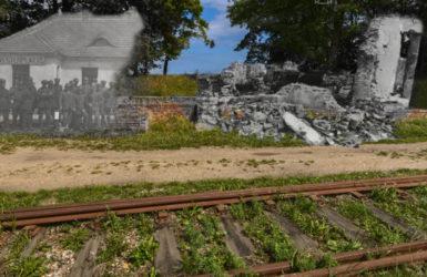 Stacja kolejowa z Westerplatte.