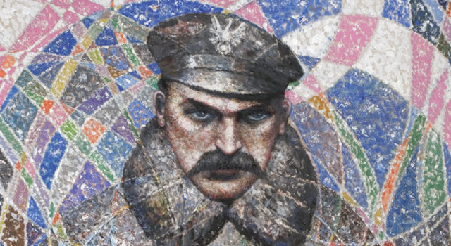 Marszałek Józef Piłsudski według Bolesława Biegasa.