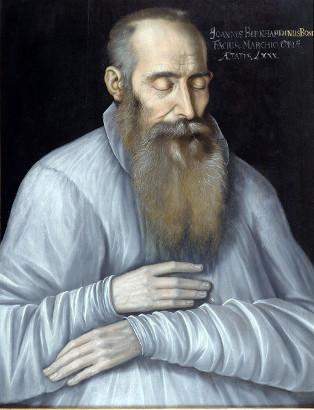 Jan Bernard Bonifacio - Portret pośmiertny, autorstwo przypisywane Antonowi Möllerowi.