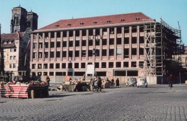 Powojenna odbudowa Norymbergi i niemieckiej gospodarki.