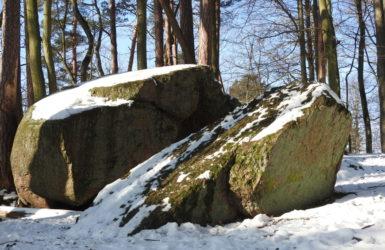Diabelski Kamień w Dolinie Radości