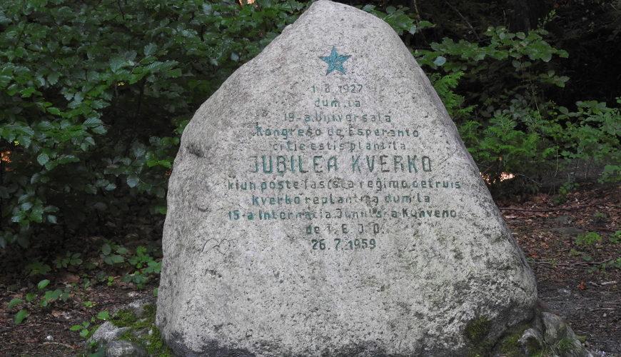 Głaz Esperantystów w Sopocie.