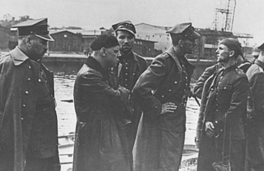 Kapitulacja obrońców Westerplatte