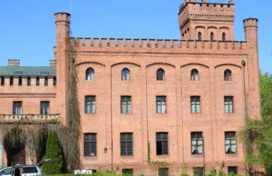 Rzucewski pałac powstał w latach 1840-1845 według projektu Friedricha Augusta Stülera.