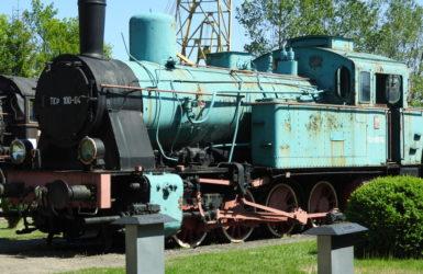 W zbiorach muzeum kilkanaście zabytkowych parowozów.